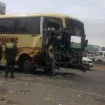 Nasca: Dos muertos y más de 20 heridos tras accidente