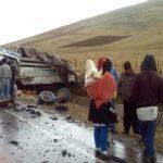 Pasco: 3 Muertos y 6 heridos graves tras accidente de tránsito