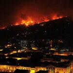 Chile: Alerta roja por incendios forestales en tres regiones