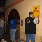Chimbote: Clausuran y tapian discotecas sin licencia
