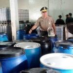 Cajamarca: Incautan 5 mil litros de vino adulterado