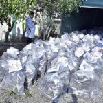 Policía incinera más de 2 toneladas de droga