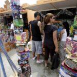Navidad: Solo hay 28 ferias de pirotécnicos autorizadas