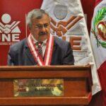 Amenazan de muerte a presidente del JNE, Francisco Távara
