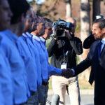 Humala y Hollande saludan avances en construcción del primer satélite peruano