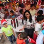MIMP celebra Navidad de niños y niñas del INABIF