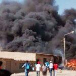 Chiclayo: Seis familias damnificadas por incendio