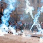 Soldados israelíes lanzan lluvia de gases y balas en Belén