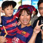 Mundial de Clubes: Barcelona tuvo festivo recibimiento en Japón