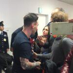 Messi recibe escupitajo de hincha de River Plate en Japón