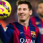 Lionel Messi premiado en Dubái como el mejor del 2015