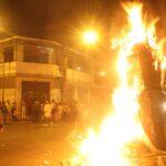 Pueblo Libre: Multa de mil soles por quemar muñecos en Año Nuevo