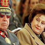Chile: Viuda de Pinochet permanece hospitalizada con diagnóstico reservado