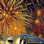El mundo ya celebra la Navidad con fuegos artificiales (VIDEOS)