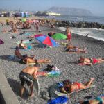 Lima soportó este domingo 33 grados centígrados de calor