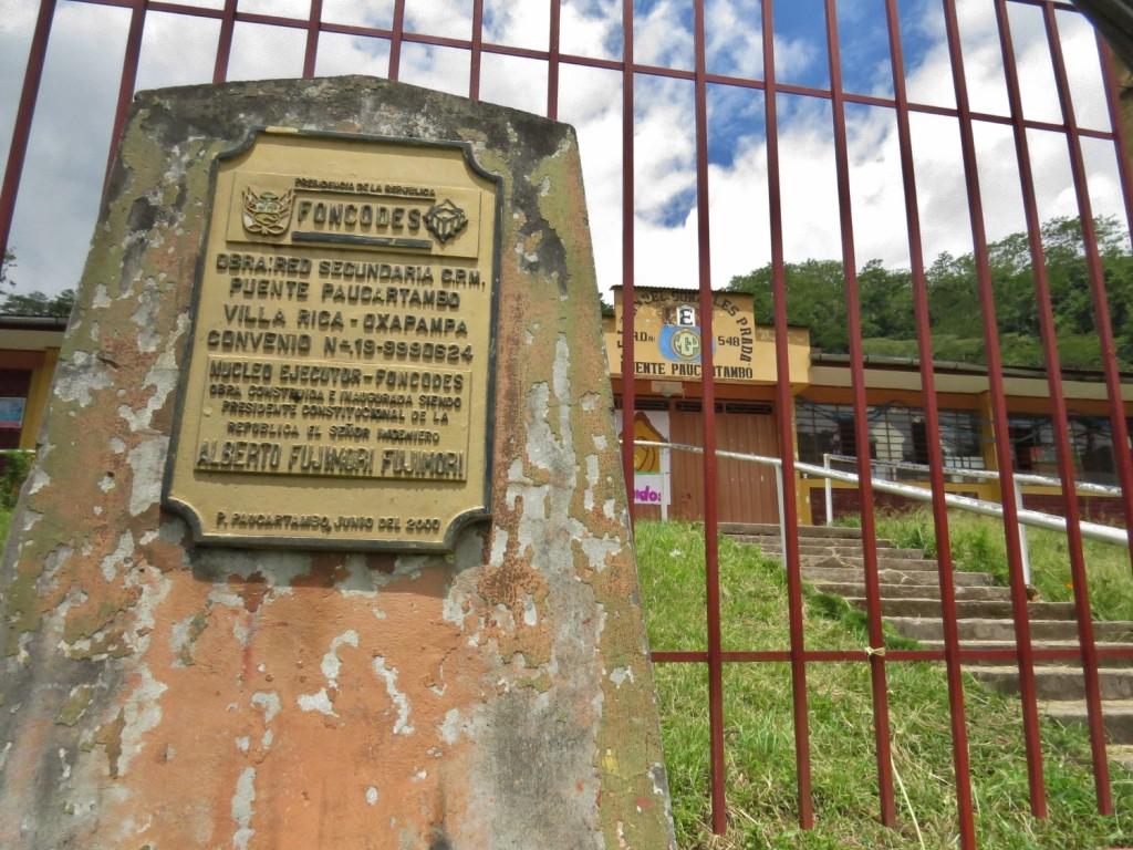 Puente Paucartambo Colegio 1