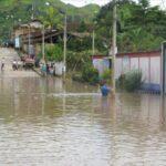 San Martín: Ríos Saposoa y Serrano se desbordan por lluvias