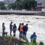 San Martín: Río Huayabamba aumentó nivel por lluvias