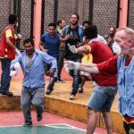 Fenómeno 'El Niño': Internos de penal del Callao participaron en simulacro