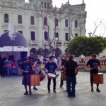 Centro de Lima: El 'Túnel de la energía' visita plaza San Martín