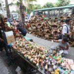 Navidad: Ambulantes invaden avenida Nicolás de Piérola