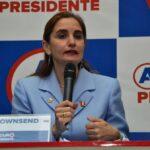 Anel Townsend: UPP reconoce que no está inscrita en su partido