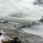 EEUU: Cancelan 1,400 vuelos comerciales por las tormentas