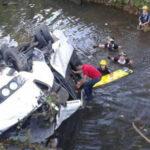 Áncash: Caída de bus deja 6 muertos, 2 desaparecidos y 23 heridos