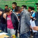Callao: Más de 500 detenidos en 10 días de estado de emergencia