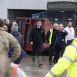 Reino Unido: Cameron visita zonas inundadas de Inglaterra