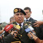 FFAA: Comandante general del Ejército niega filiación política