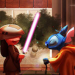 Star Wars: Los clásicos de Disney en escenas de la saga