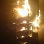 Dubai: No hay heridos en impresionante incendio de rascacielos