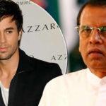 """Enrique Iglesias: Presidente de Sri Lanka pide """"azotes"""" por concierto"""