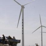 China inicia la construcción de su mayor parque eólico