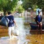 Paraguay:  Unos 90,000 evacuados por crecida de río en Asunción
