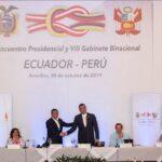 Perú y Ecuador regularizarán situación de migrantes