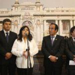 """Gana Perú: Fujimorismo y sus aliados """"blindan"""" a Keiko Fujimori"""