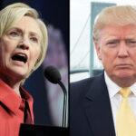 EEUU: Hillary Clinton gana en intención de voto a Donald Trump