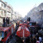 Siria: Al menos 32 muertos y 90 heridos en doble atentado