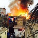 Incendio en el Rímac deja cinco familias damnificadas