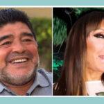 Maradona visitará a encarcelada vedette y actriz Moria Casán