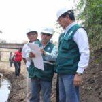El Niño: Supervisan obras de prevención en río La Leche