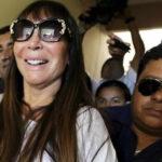 Moria Casán sale en libertad y pasará Navidad en Argentina