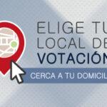 Elecciones: ONPE lanza aplicación para elegir local de votación