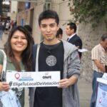 ONPE: Jóvenes entre 18 y 29 años eligen local de votación