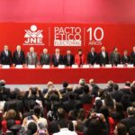 Pacto Ético Electoral: Partidos políticos firmaron acuerdo