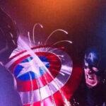 Capitán América 3: Pantera Negra maltrata el escudo del héroe