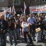 Grecia: Medios de comunicación paran en víspera de huelga general