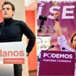 Partidos Podemos y Ciudadanos transmiten su rechazo a Rajoy